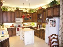 Natural Kitchen Cabinets Kitchen Fabulous White And Walnut Two Tone Kitchen Cabinets