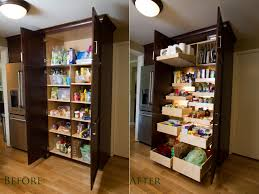 Sliding Cabinet Organizers Kitchen Sliding Pantry Shelving Systems Video And Photos