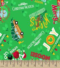 national lampoon u0027s christmas vacation print fabric joann