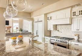 Kitchens With Island by Kitchen With Island Sink Cabinets And Hardwood Floors And