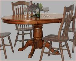 Vintage Oak Dining Chairs Winners Only Pedestal Dining Table Vintage In Oak Wo Dv14260