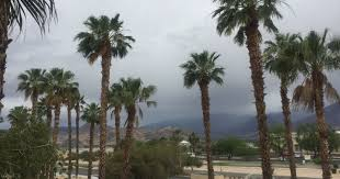 blows into coachella valley after cold weekend