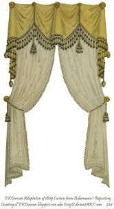 100 Curtains Victorian 1810 Fringe And Tassel Curtain Traditional Drapery U0027s