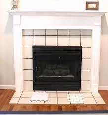 fireplace revamp a lovely living