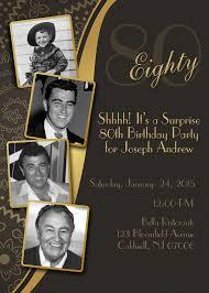 80th birthday invitations invitations for 80th birthday party diy print birthday