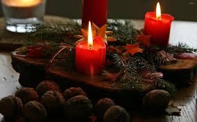 christmas candles 2 wallpaper holiday wallpapers 9088