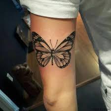 butterfly tattoos with butterflies sleeve ideas