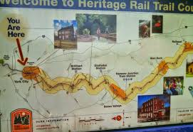 York Pennsylvania Map by Shenandoah Bicycle Company Blog Rails With Trails In Pa And Maybe