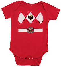 red power ranger costume for toddlers amazon com power rangers baby ranger costume romper clothing