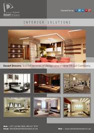 Home Interior Solutions by Desert Dreams Is A Full Services Of Design And Interior Fit Out