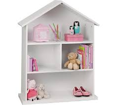 buy collection mia dolls house bookcase white at argos co uk