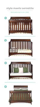 Delta Bentley Convertible Crib Toddler Bed Picmia