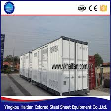 prefab shipping container house reefer container house container