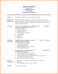 Examples Of Nursing Assistant Resumes Medical Office Administrative Assistant Resume Examples Resume