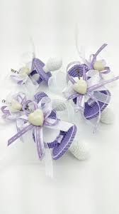purple shade lot 15 pacifiers crochet package favors for birth baptism purple