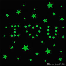 Star Decals For Ceiling by Pack 3d Glow In The Dark Star Luminous Decal Sticker Bedroom Room