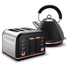 Brushed Stainless Steel Kettle And Toaster Set Accents By Morphy Richards Australia Kettles And Toasters With A