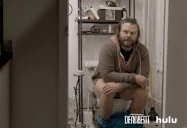 Sittin On Tha Toilet Meme - sitting on the toilet gifs get the best gif on giphy