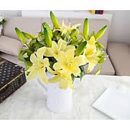 Polyester Flowers - lilies artificial flowers search lightinthebox