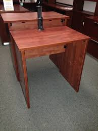 Office Furniture Stand Up Desk by Stand Up Desk With Charge And Connect Pop Up Port Golden State