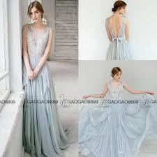 wedding dress hire uk carousel fashio dusty blue lace dreamy evening formal