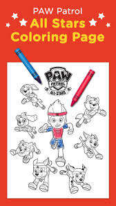 nick jr halloween coloring pages 70 best paw patrol images on pinterest paw patrol party paw