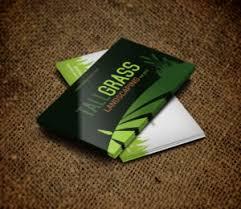 Landscape Business Cards Design 73 Bold Colorful Landscape Business Card Designs For Tallgrass
