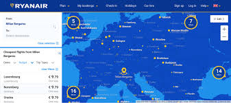 Ryanair Route Map by How To Book A Cheap Flight General