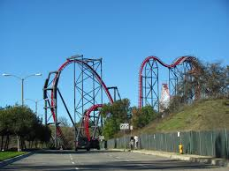 Six Flags Los Angeles Six Flags Magic Mountain Theme Park In California Thousand Wonders