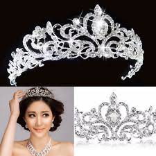 wedding crowns princess tiara ebay