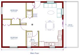 Two Bedroom Cabin Floor Plans Cozy Design Retirement Cabin Floor Plans 7 Hancock East 2 Bedroom