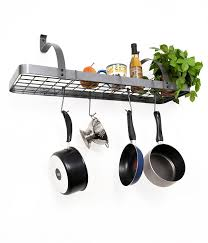 kitchen style wall mounted pot rack wall rack stackable pot rack