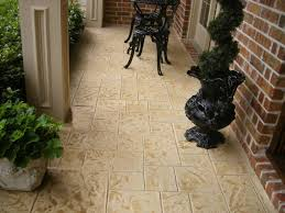 Concrete Patio Resurfacing by Stamped Concrete Overlays Decorative Concrete Serving Southlake