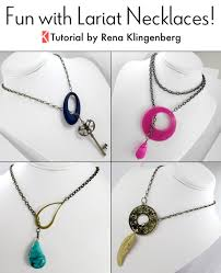 tutorial necklace making images Fun with lariat necklaces tutorial jewelry making journal jpg
