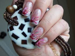 cute nail style with beautiful decoration 6 nails art club
