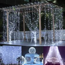 best deal on led icicle lights 3 3m led window curtain icicle lights 306 led 9 8ft 8 modes string