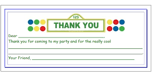 kids thank you cards free printable cards for kids