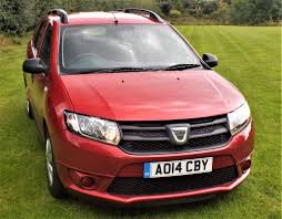 dacia logan 0 9 tce ambiance 5dr estate with only 13 800 miles