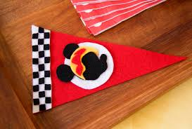 Disney Flag Mickey And The Roadster Racers Pennant Flag Disney Family