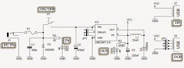 usb car charger circuit diagram electronic projects ic based