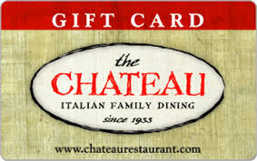 restaurant egift cards the chateau restaurant egift card giftcardmall