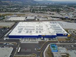 New Ikea Ikea Plugs In Solar Array Atop Relocated Burbank Store New