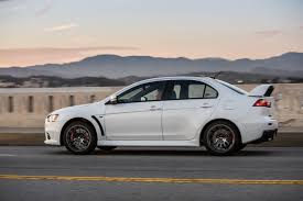 mitsubishi evolution 1 mitsubishi usa waves goodbye to lancer evo with 2015 final edition