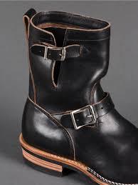 engineer boots viberg engineer boot black chromexcel