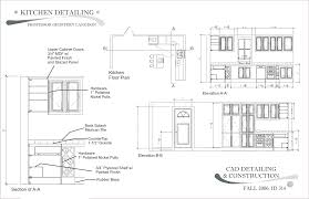 Cad Kitchen Design by Beautiful Kitchen Design Elevations On Inspiration Decorating