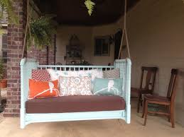 Swings Patio Patio Furniture Outstanding Patio Swing That Turns Into Photo