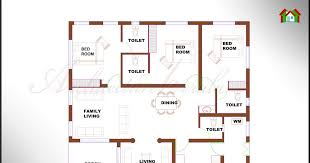 Kerala House Single Floor Plans With Elevations Architecture Kerala 3 Bhk Single Floor Kerala House Plan And