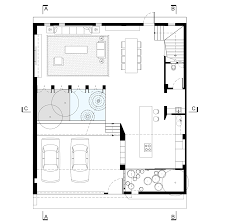 H Shaped Floor Plan Vaco Design U0027s H House Features A Geometric Patterned Facade