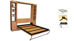 Murphy Desk Bed Plans Endearing Homemade Murphy Bed Plans And Diy Wall Bed For 150