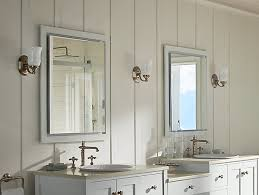 How To Replace A Medicine Cabinet Mirror K 99007 Verdera Medicine Cabinet With Magnifying Mirror Kohler